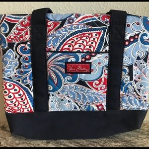 Vera Bradley Nautical ⚓️ Canvas Bag